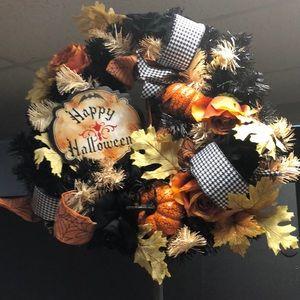 Halloween Door Hanging Wreath